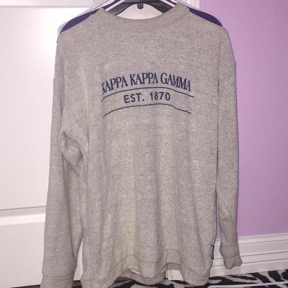 274441f65c23 Kappa kappa gamma wooly threads sweatshirt. M 5b705a985fef37cb18ac0303